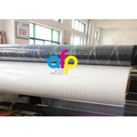 Quality Transparent Holographic Bopp Lamination Film 26micron Standard / Customized Pattern for sale
