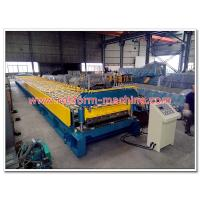Buy cheap 1500mm Width Galvanized Steel Foor Deck Sheet Cold Roll Forming Machine for from wholesalers