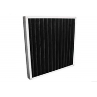 Buy cheap Eradicate Odor Synthetic Fiber Filter / Mini - Pleat Activated Carbon Filters from wholesalers