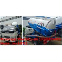Quality high quality and best price dongfeng 3cbm vacuum sewer cleaner truck for sale, good price 3,000Liters vacuum truck for sale