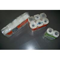 Buy cheap 4 roll, 12 roll, 10 roll packing virgin Toilet Tissue roll, bath tissue, toilet paper from wholesalers