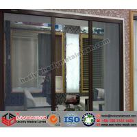 Quality PVC coated stainless steel security screen window, 304 security window screen for sale