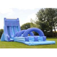 China Giant Inflatable Water Slide , Adult Size Inflatable Water Slide on sale