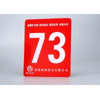 Quality ABS Rotary Engravable Plastic Sign Board Tamper Proof With Size 24X 48 for sale