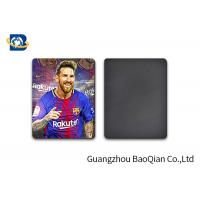 Quality 3D Fridge Lenticular Magnet Football Star Lionel Andres Messi Printed Pattern for sale
