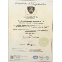 Accuracy Electronics Technologies Co.,Ltd Certifications