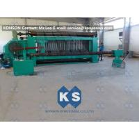 Quality Large Hexagonal Wire Netting Machine 4300mm Width For Making Cylinders Gabions for sale