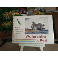 Quality 190gsm 24sheets Artist Paint Pad gummed watercolour pad A3 / A4 watercolour paper for sale