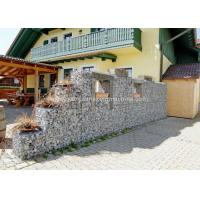 Quality Gabion Baskets Retaining Wall 100x120mm Mesh Size For Rock Fall Defending for sale