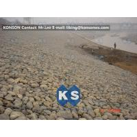 Quality Large Gabion Stone Cage Retaining Wall Guide Gabion Mattresses In RoadBuilding for sale