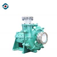 Quality Metal Lining Horizontal Slurry Pump , Sand Experienced Submersible Slurry Pump for sale