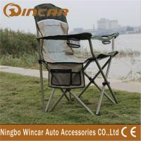 Quality Portable Folding Outdoor Camping Chairs With Cup Holder for family for sale