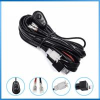 Quality Offroad Light Bar Wiring Harness Kit DT Plug Auto Power LED Connecting for sale