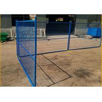 Quality New Zealand Standard Temp Fence Hot Dipped Galvanized Temp Fencing For Sale 2100mm X 2400mm for sale