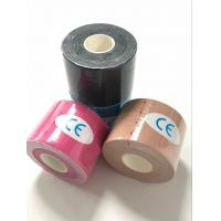 Quality medical waterproof printing sports tape kinesiology taping knees, elbows, arms. for sale