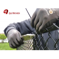 Quality Galvanized Iron Wire Material-Pvc Coated Chain Link Fence Type Sports Field Fence for sale