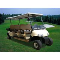 Buy CE Approval Multiple Purpose 6 Seats Electric Golf Cart Club Car With Plastic at wholesale prices