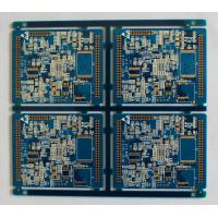 China 1oz FR4 Silkscreen Multilayer PCB Board Blue Solder Mask 1.6MM Thickness on sale