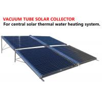 Quality Ground Mounted Vacuum Tube Solar Collector Anti Corrosive Outer Tank for sale