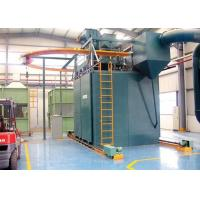 Quality Hook Type Automatic Shot Blasting Machine for Irregular Parts Critical Cleaning for sale