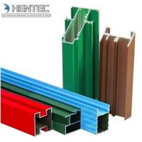 Quality Customerized Aluminum Window Extrusion Profiles Wooden Finished 6005 / 6061 / 6063 for sale