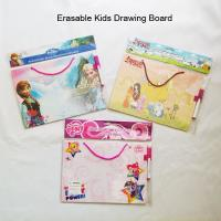 Buy cheap Pony Hanging Dry Erase Board with Marker/Kids Drawing Board with Customized Logo Printing from wholesalers