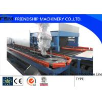 China 12000*12000mm PU Sandwich Panel Production Line With PLC Control System on sale