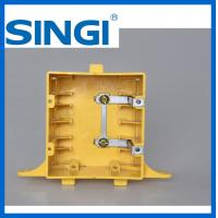 Buy OEM / ODM 2 Plastic outlet box with covers non metallic weatherproof at wholesale prices