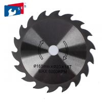 China Fine Cut Circular Saw Blade 165mm TCT Sharpening Disc for Plywood MDF on sale