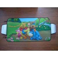 Quality PE Bubble Car Sunshades / PE Bubble Car Sun Shield /Sunshades with Colorful Printing for sale