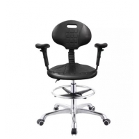 Quality Antistatic PU Foam 430*400mm Seat ESD Office Chair for sale