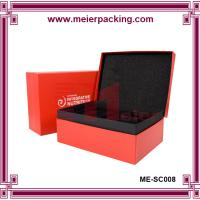 Quality Custom Cardboard Clamshell Paper Jewelry  Set Gift Box/Rectangular Gift Clamshell Box ME-SC008 for sale