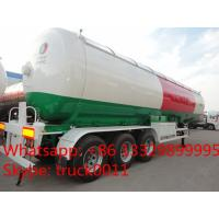 Quality 57cbm 3 axle LPG tanker semi-trailer for propane for sale, BPW 57,000Liters propane gas road transported tank for sale for sale