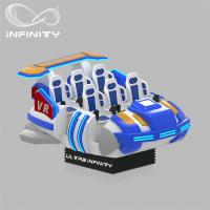 Quality 6 Seats VR Motion Simulator Virtual Reality Cinema Entertainment Simulation Rides for sale