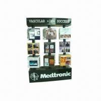 Quality Point of Sales Display Cardboard, POP Display Cardboard Countertop Display, 4C Offset Printing for sale