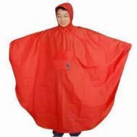 Quality Poncho for Bike, Waterproof, with PU Coating for sale