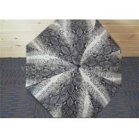 Quality Sexy Snakeskin Pattern Auto Folding Umbrella , Mini Folding Umbrellas For Windy Conditions for sale