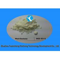 Buy cheap 99% Min High Purity Muscle Building Steroids Powder Methyltrienolone CAS 965-93-5 from wholesalers