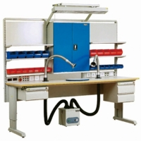 Quality Laboratory Electronic 300KG  Stainless Steel ESD Workbenches for sale