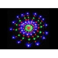 Quality Multicolor Spider Web String Lights 8 Modes 1.2m Plug And Play 220 Volt Power for sale