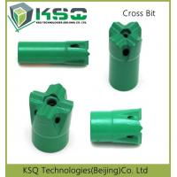 Quality 29mm - 60mm Diameter High Speed Mining Bits Cross Taper 7 11 12 Degree for sale