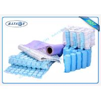 Quality 9G-120 Gram Multi Color 47cm Width PP Spunbond Non Woven Fabric For Box Spring Cover for sale