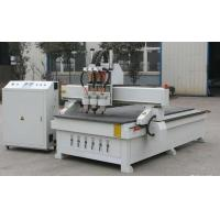 Quality Tripple Headed Automatic CNC Wood Routers Wood Door And Window Cutting And Processing for sale