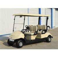 Quality Energy Saving 4 Seater Golf Carts Golf Electric Buggy With Battery Power for sale