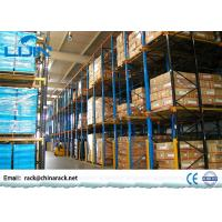 Quality Heavy Duty Drive In Pallet Rack For Industrial Workshop Optional Color for sale