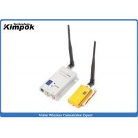 Quality 1.5 Watt 1.2ghz 3km Wireless Av Sender With 8 Channels , High Performance for sale