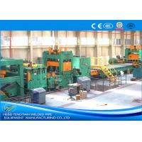Quality PLC Control Cut To Length Machine , Steel Coil Cutting Machine With Adjustable Speed for sale