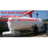China White Jotun Paint 16MnDR and Q345R steel made 10M3 vertical cryogenic liquid CO2 tank on sale