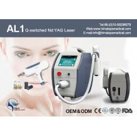 Quality Touch Screen 10 HZ Nd Yag Laser Tattoo Removal Equipment For Medical Hospital for sale