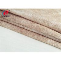 Quality 100 Waterproof Garment Micro Suede Polyester Fabric For Jacket , Customized Color for sale